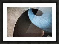 concrete wave Picture Frame print
