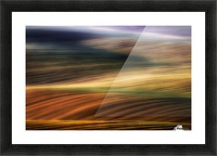 autumn fields Picture Frame print