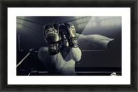 In the Glare of the Lights Picture Frame print