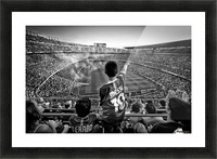 Cathedral of Football Picture Frame print