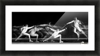 Fencing 1 Picture Frame print