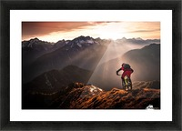 Just ride ... Picture Frame print