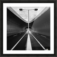 tunnel Picture Frame print