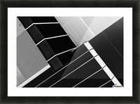 Fragile Symmetry Picture Frame print