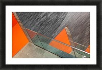Repeat the orange Picture Frame print