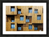 Little boxes Picture Frame print