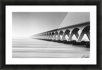 The Endless Bridge Picture Frame print