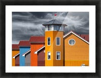 West wind Picture Frame print