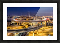 Nanpu Bridge Picture Frame print