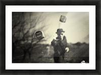 Alea iacta est Picture Frame print