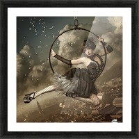 the greatest show in the sky Picture Frame print