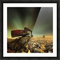Goldherer Picture Frame print