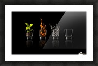 Elements... Picture Frame print