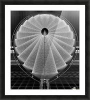 stepscircle Picture Frame print