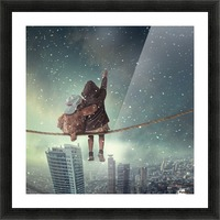 Let it snow Picture Frame print