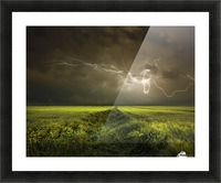 Electrically in Summer Picture Frame print