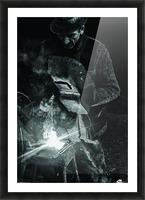 d-nul fierar (Mr. Smith) Picture Frame print