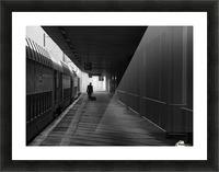 passenger Picture Frame print