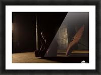 Meditation Picture Frame print