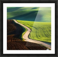 Road Picture Frame print