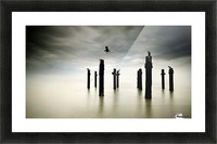 The Sentinels Picture Frame print