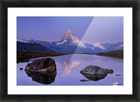 The first touch Picture Frame print
