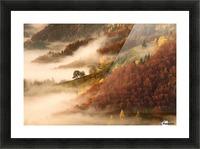 November's fog Picture Frame print