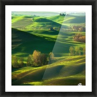 Valley... Picture Frame print