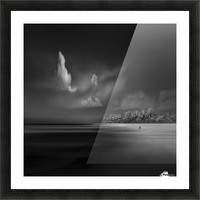 Sea Shore View Picture Frame print