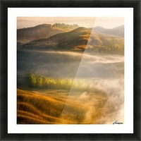 Mists... Picture Frame print