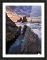 Meeting of Waters Picture Frame print