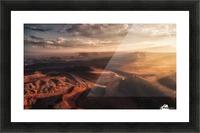 Light Blades Picture Frame print