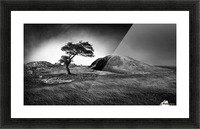Winter is coming Picture Frame print