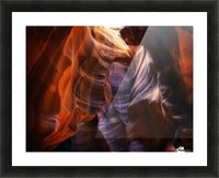 Light Up Above Picture Frame print