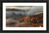 At the gates of the valley. Picture Frame print