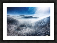 Good morning, Loose Picture Frame print