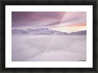 Sibillini National Park - Sunrise Picture Frame print