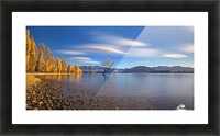 Autumn in Lake Wanaka Picture Frame print