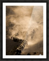 Tozlu Yolculuk Picture Frame print