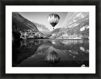 La mongolfiera Picture Frame print