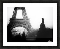 The crow Picture Frame print