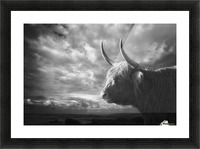 the Highlands Picture Frame print