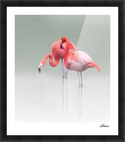 just we two ... Picture Frame print