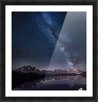 Lost in the stars Picture Frame print