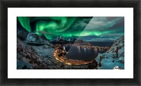 Chasing the Northern Lights Picture Frame print