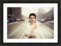 Nastya Picture Frame print