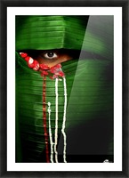 Mysterious Eye Picture Frame print