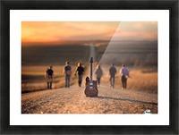 Velvet Crush Picture Frame print