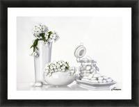 porcelain Picture Frame print