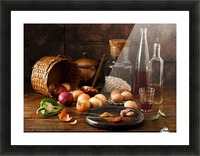 Smells Picture Frame print